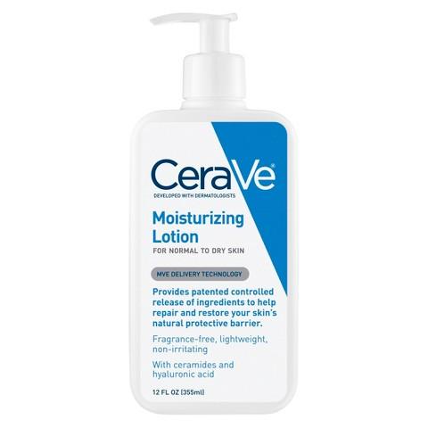 3x 12oz CeraVe Moisturizing Lotion + $10 Target GC  $21.85 + Free Store Pickup