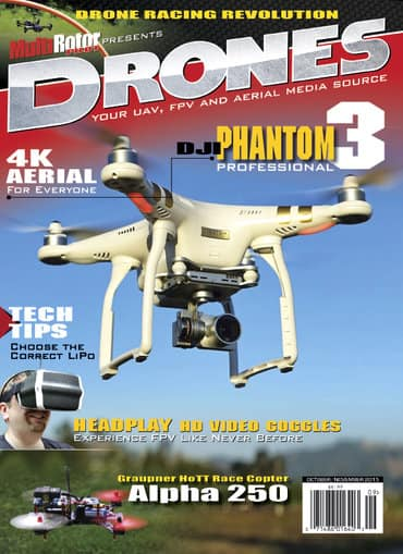 Rotor Drone Magazine $11.95 per year (Magazine for Drone Enthusiasts)