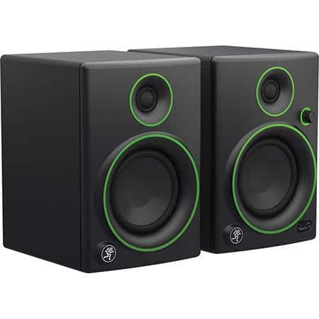 "Mackie CR4 4"" 50W  Monitor Speakers (Pair) $115, 3"" Model  $85 + Free Shipping"