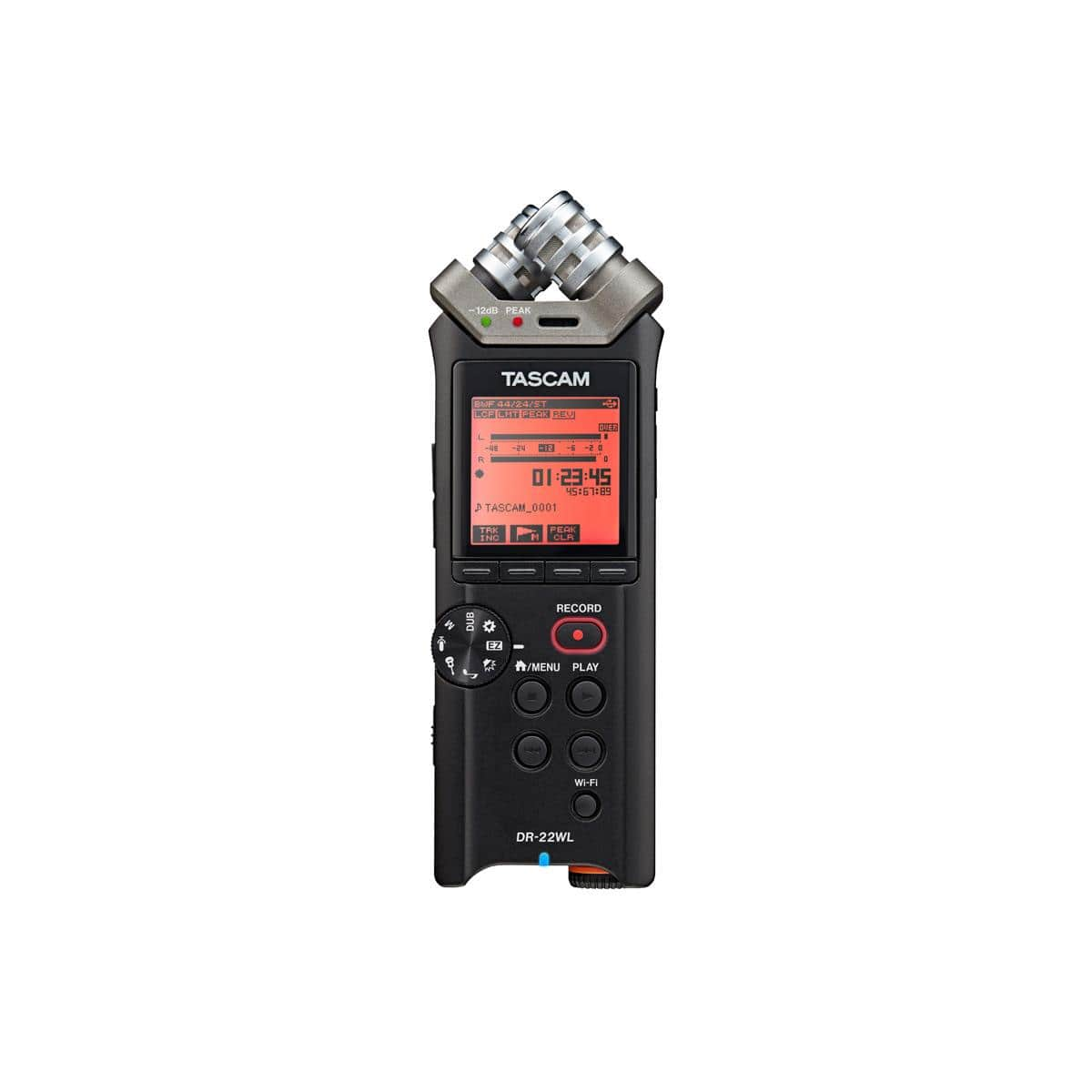 Tascam DR-22WL 2-Channels Handheld Audio Recorder w/ WiFi  $81 + Free Shipping