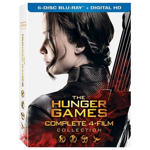 The Hunger Games: Complete 4 Film Collection (Blu-ray + Digital HD)  $35 + Free Store Pickup