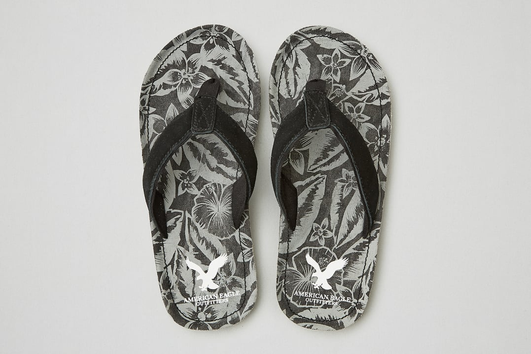 American Eagle: 60% Off Clearance: Men's Leather Belt $10, Leather Flip Flop  $8 & More + Free S/H with Shoprunner