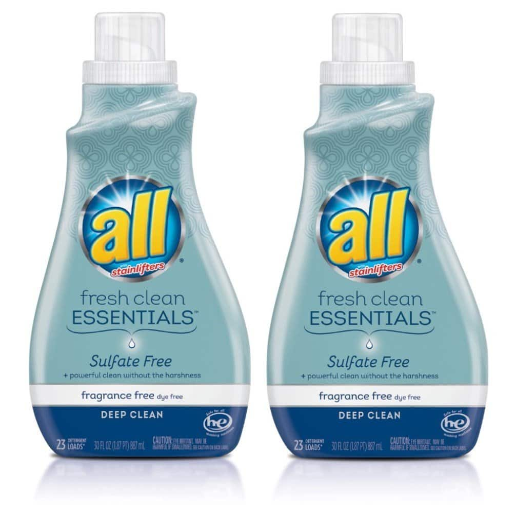All Laundry Detergent Fragrance Free 30 oz (2 count) $4.48 or less