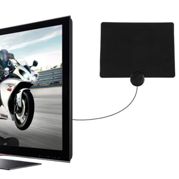 Liger Ultra-Thin Indoor HDTV Antenna (40 mile range)  $19 + Free Shipping