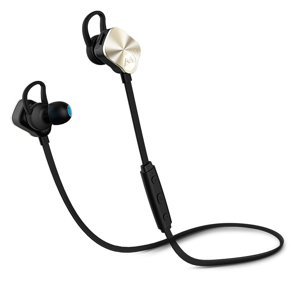 Mpow Wolverine Bluetooth 4.1 Sports Headphones (Gold or Silver) $14.50 AC + FSSS!
