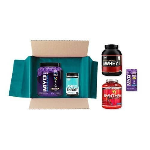 Sports Nutrition Sample Box + $10 Credit for Future Sports Nutrition Purchase  $10 for Prime Members + Free S/H
