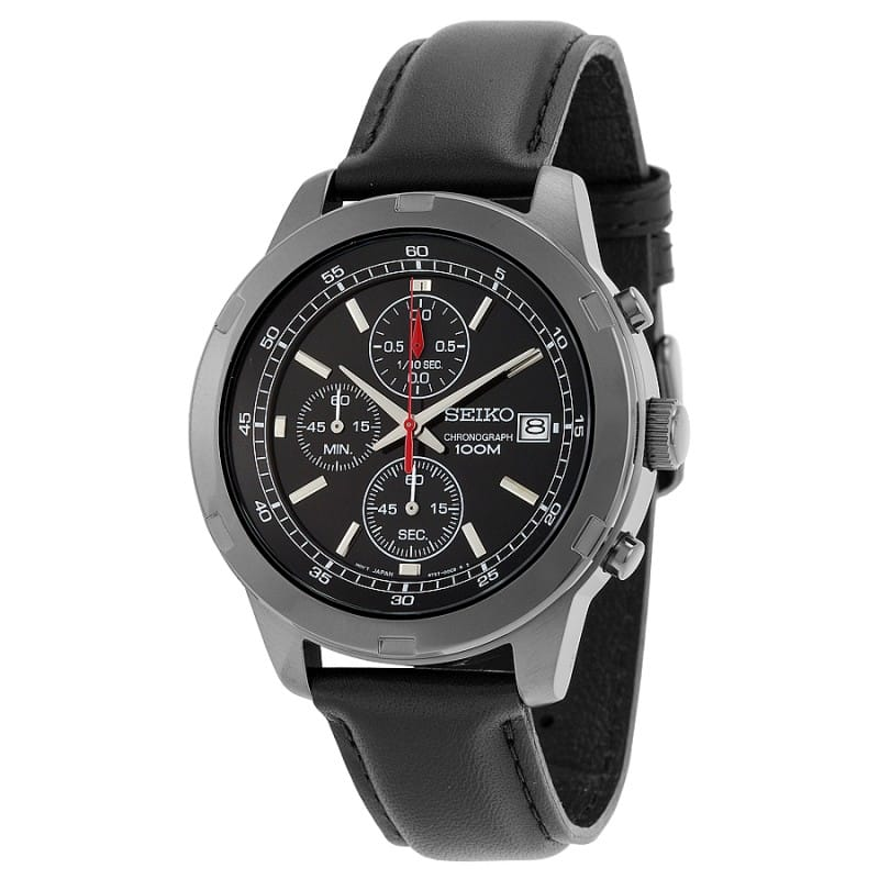 Seiko Men's Stainless Steel Chronograph Watch $69.99 with free shipping *Back for Less*