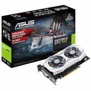 ASUS GeForce GTX 950 Video Card, Dual Cooling Fan  $100 After $30 Rebate + Free Store Pickup