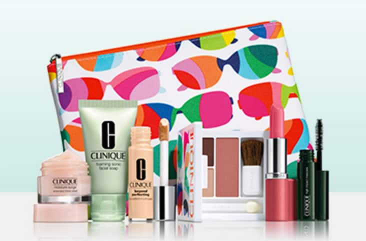 Clinique: 7-Piece Gift Set with Clinique Purchase of  $27 + Free Shipping