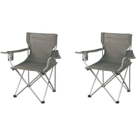 2-Pack Grey Ozark Trail Regular Armchairs  $7 + Free Store Pickup