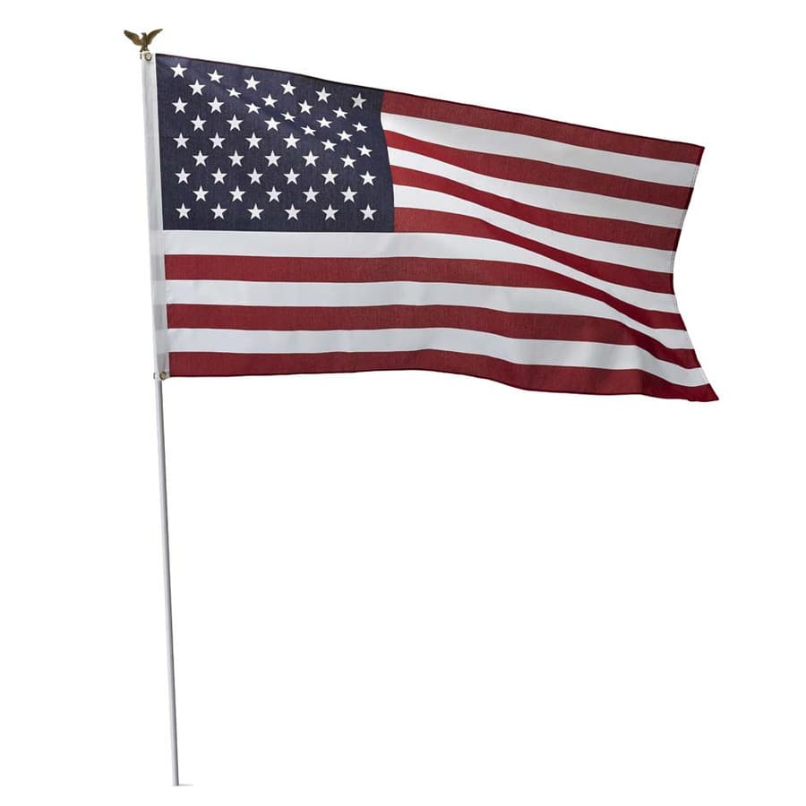 Independence Flag American Flag (Lowes) 6.97 + tax Store Pick Up