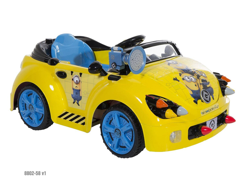 Minions Car (6V Electric motor)  $77