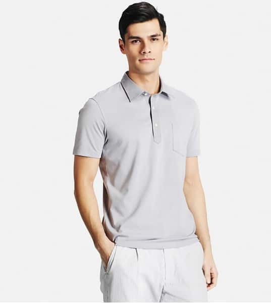 Uniqlo Sale: DRY Button-Down Collar Polo  $15 & More + Free Shipping