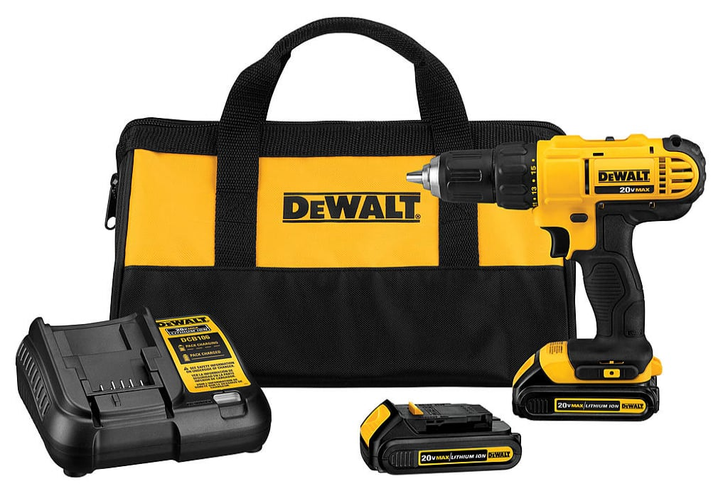 DeWalt 20V MAX Lithium Ion Compact Drill/Driver Kit + $16 SYWR Points  $100 or less + Free Shipping