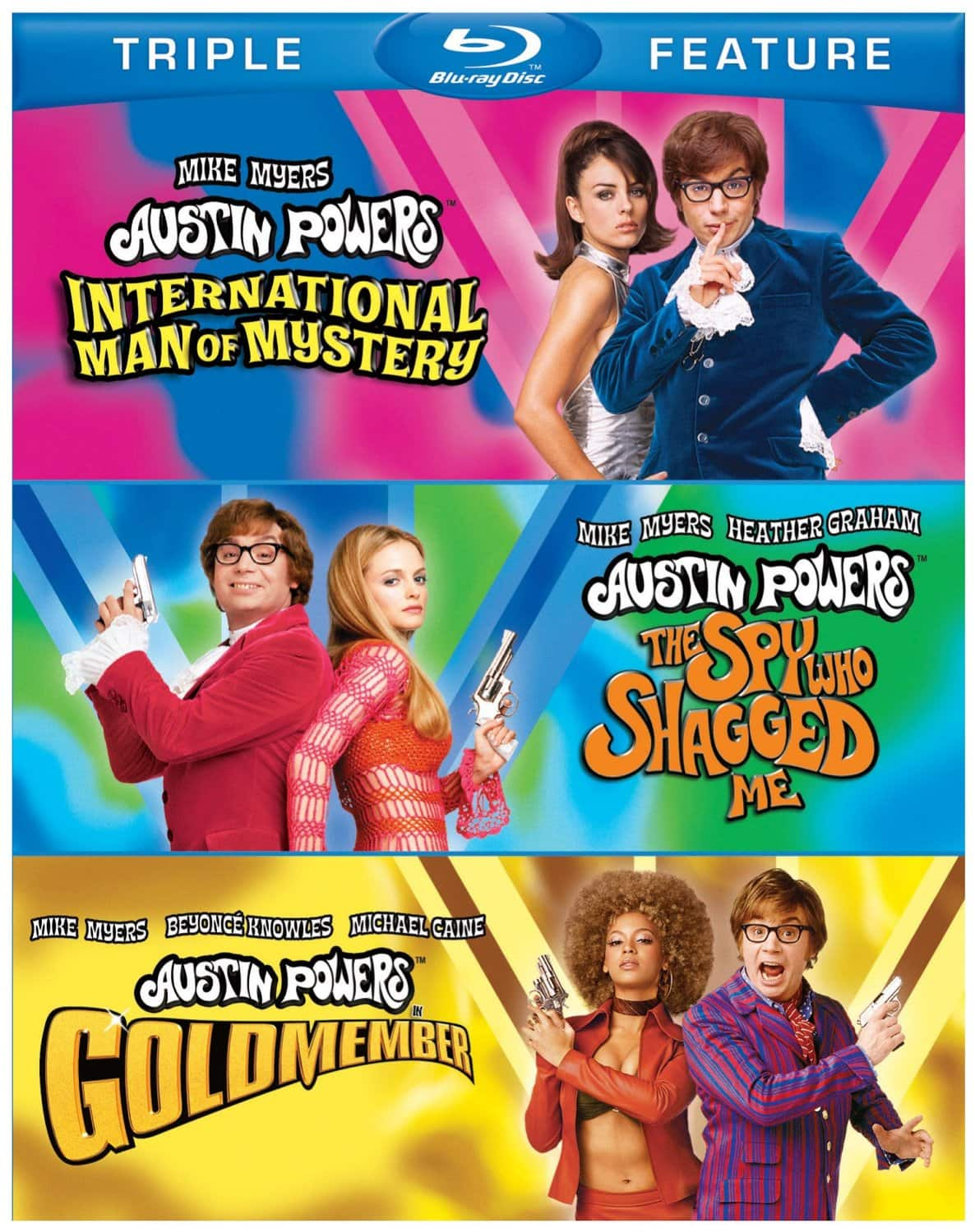 Austin Powers Triple Feature (Blu-ray)  $9