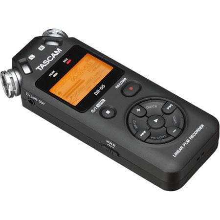Tascam: DP-006 Multitrack Recorder $85 or DR-05 Audio Recorder  $65 + Free Shipping