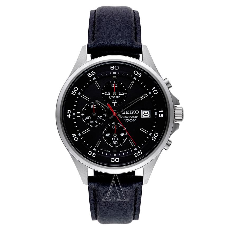 Seiko Men's Chronograph Watch SKS495 for $74.99