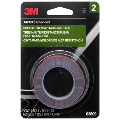 """3M Scotch-Mount 1/2"""" x 5' Super Strength Molding Tape - $2.66 AC & S&S ($2.27 AC & 5 S&S Orders) + Free Shipping - Amazon"""