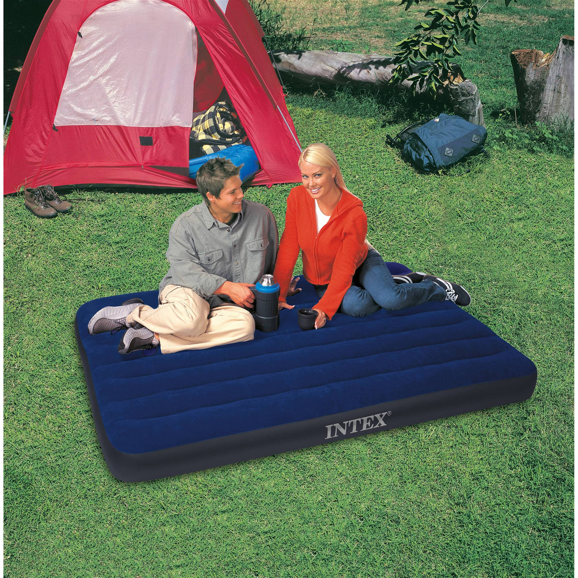 Intex Classic Downy Airbed (Full) $6.93 + Free Store Pickup