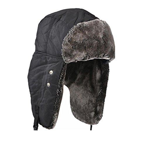 Unisex Winter Ear Flap Hat Trooper, Trapper, Hunting Hat Ushanka $4.99 + Fs @Amazon.com
