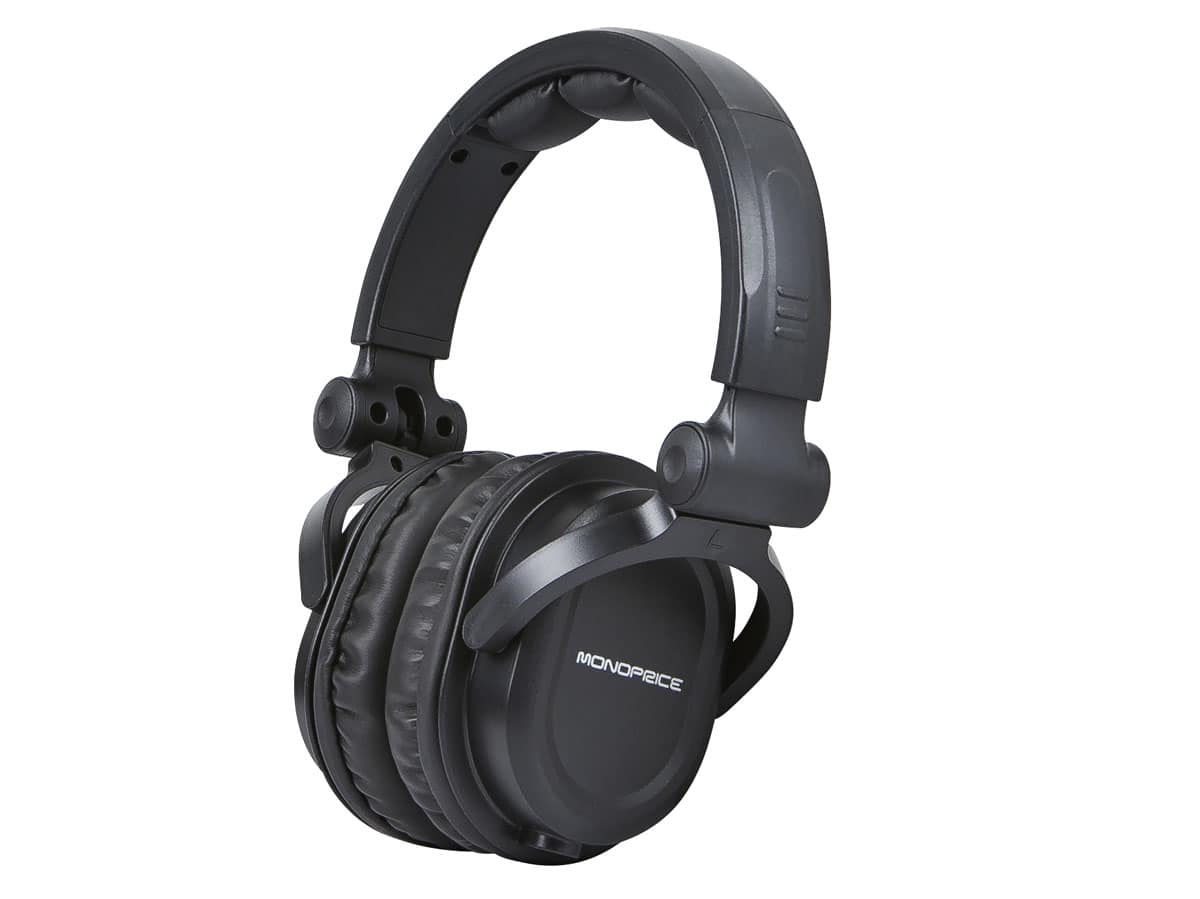 Monoprice Premium Over-the-Ear Headphones w/ Detachable Cable  $16 + Free Shipping