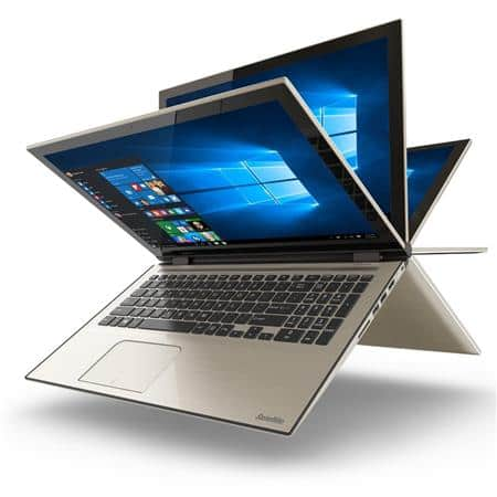 Toshiba Satellite Fusion 15 Signature Edition 2-in-1 Touchscreen Laptop: i5-6200U, 1920x1080p IPS Touch, 1TB HDD, 8GB DDR3L, Win 10 for $469 + free shipping