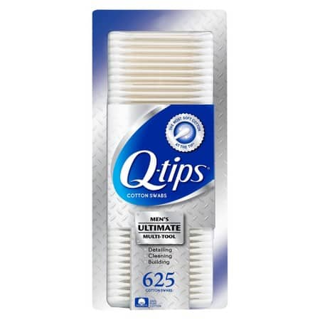 4-Pack of 625-Count Q-tips Cotton Swabs + $5 Target Gift Card  $11.85 + Free Shipping