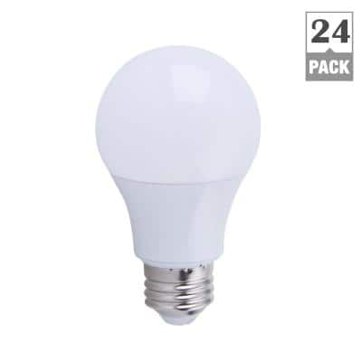 Home Depot: EcoSmart 60W Soft White A19 Non-Dimmable LED Light Bulb (24-Pack) - $39.88 Plus Free Store Pickup