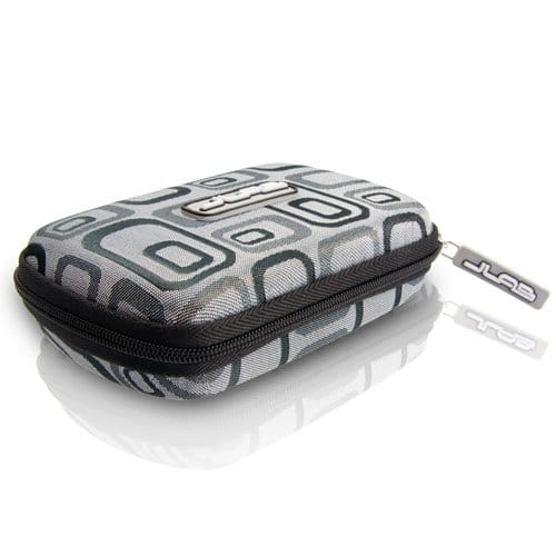 Samba Travel Case for JBuds J2 Earbuds (Black Jacquard) (Discontinued by Manufacturer) $1.99 sss eligible @ amazon / few more colors are add on item!