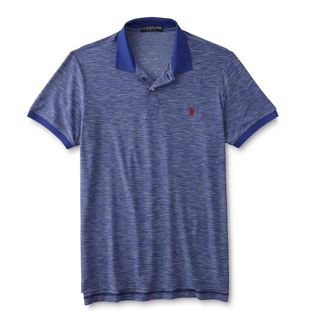 U.S. Polo Assn. Men's Feel Dry Polo Shirt + $20 SYWR Points  $20 & More + Free Store Pickup