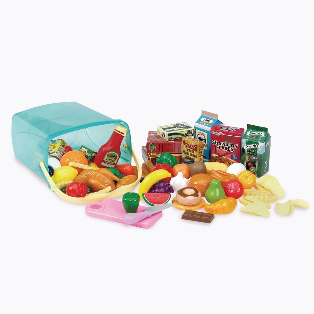 Play Circle Pantry in a Bucket 79 Pieces $8.14 Target