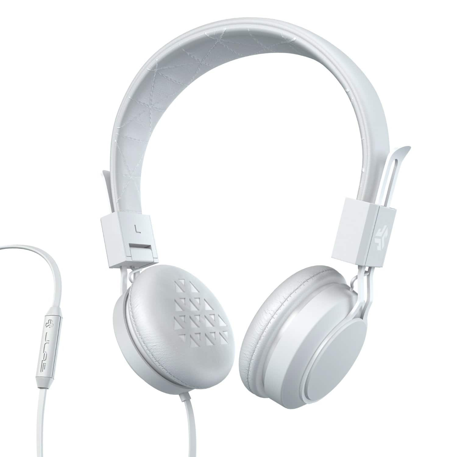 JLab Intro Premium On-Ear Headphones w/ Universal Mic  from $6.90