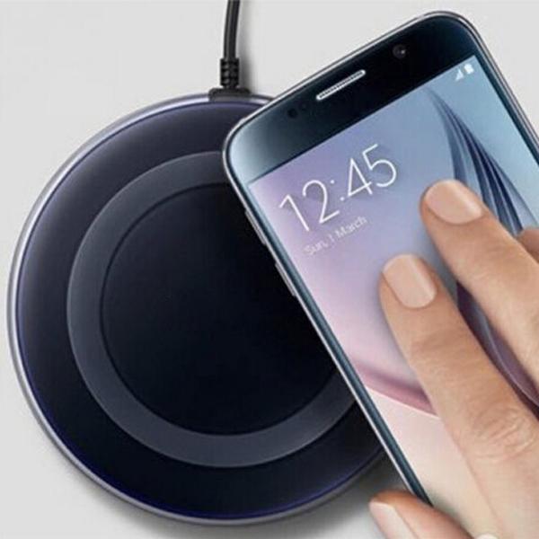 QI Wireless Charging Pad for Samsung Galaxy S6/S6 Edge/Nexus 6 (Black)  $4 + Free Shipping