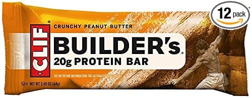 Clif Bar builder's protein bars. 10.98