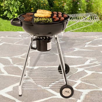 "Masterbuilt 22.5"" Kettle Grill with Side Shelf at Costco online $39.97+tax"