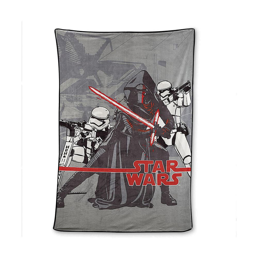 Star Wars The Force Awakens Blanket + $10 SYW  $11 + Free Store Pickup