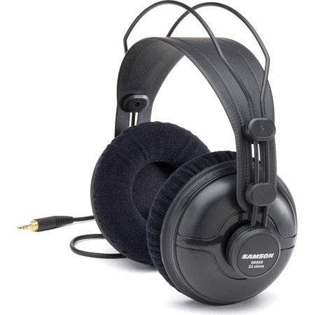 Samson Professional SR950 Closed Back Headphones (Black)  $30 + Free S/H