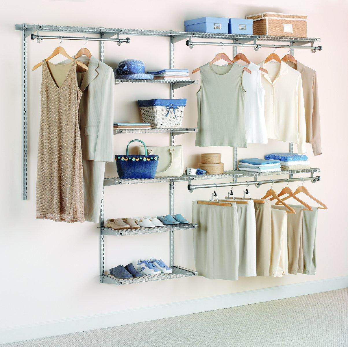 Prime Members: Rubbermaid Configurations 4-8' Custom Closet Kit  $70 + Free Shipping