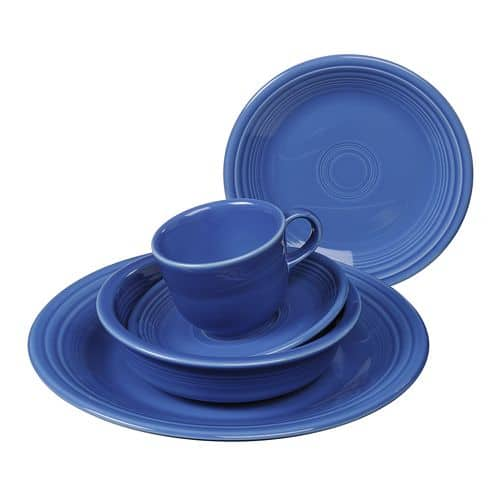 2x Fiesta Place Settings + 2x Free Pieces of Fiesta for $34.98