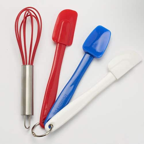 Kohl's Cardholders: Farberware 2-Pc Mini Tongs $2.80, 4-Pc Mini Spatula Set  $3.50 + Free Shipping