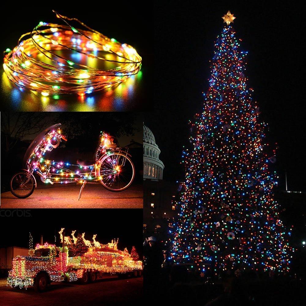 120 LED Multi-Color Copper String Lights  $3.60
