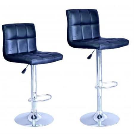 2-Count Adjustable Swivel Bar Stools Chairs (Various)  $55 w/ Masterpass Checkout + Free S/H