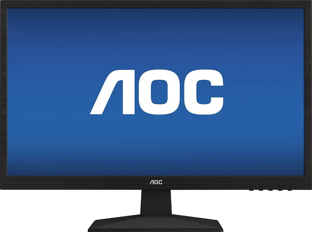 "24"" AOC E2429SWHE 1080p LED Monitor  $80 + Free Shipping"