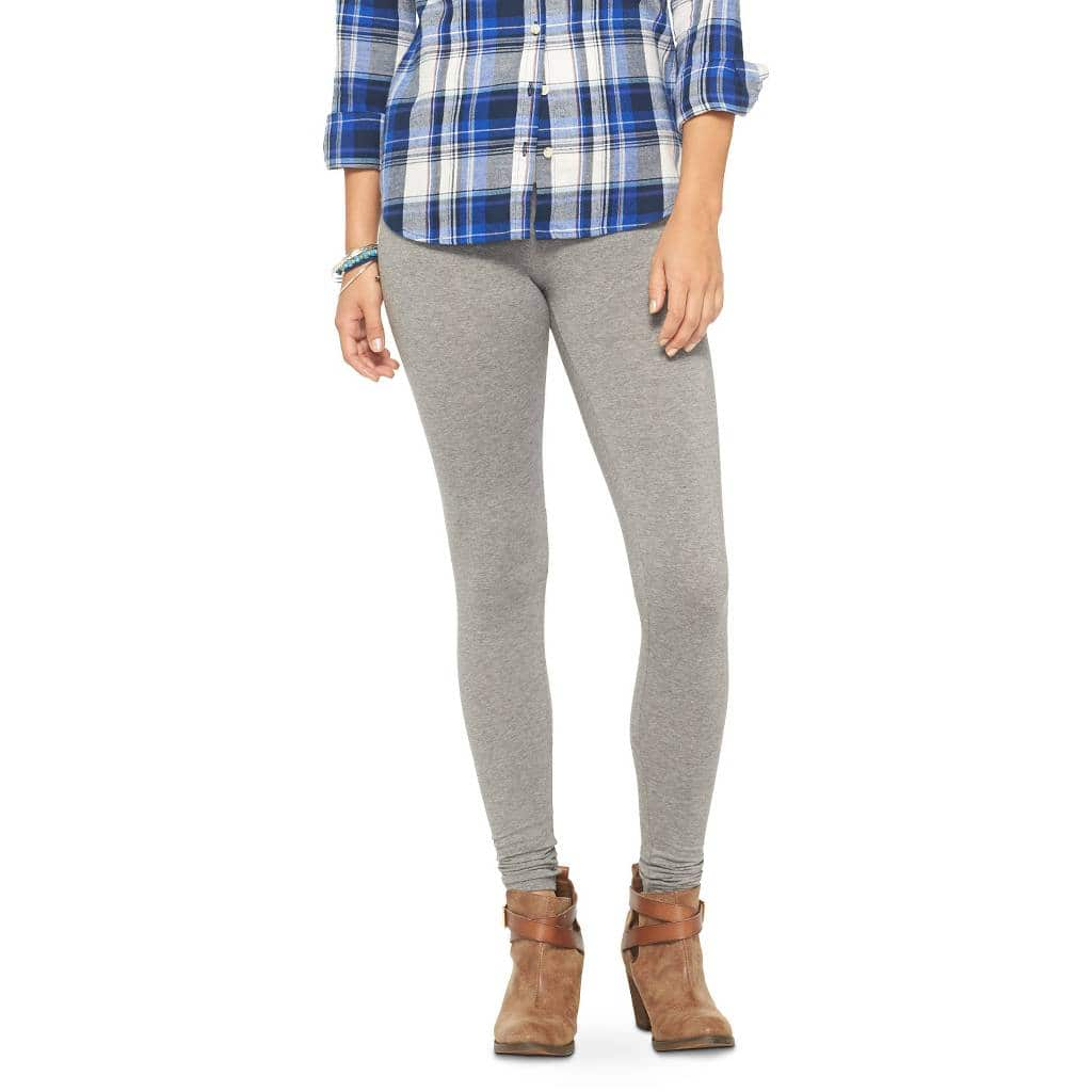 Mossimo Supply Co. Women's Junior Leggings (Heather Grey)  $2.90 + Free Store Pickup