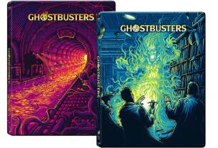 Ghostbusters and Ghostbusters II Steelbooks (Blu-ray)  $20 + Free Shipping