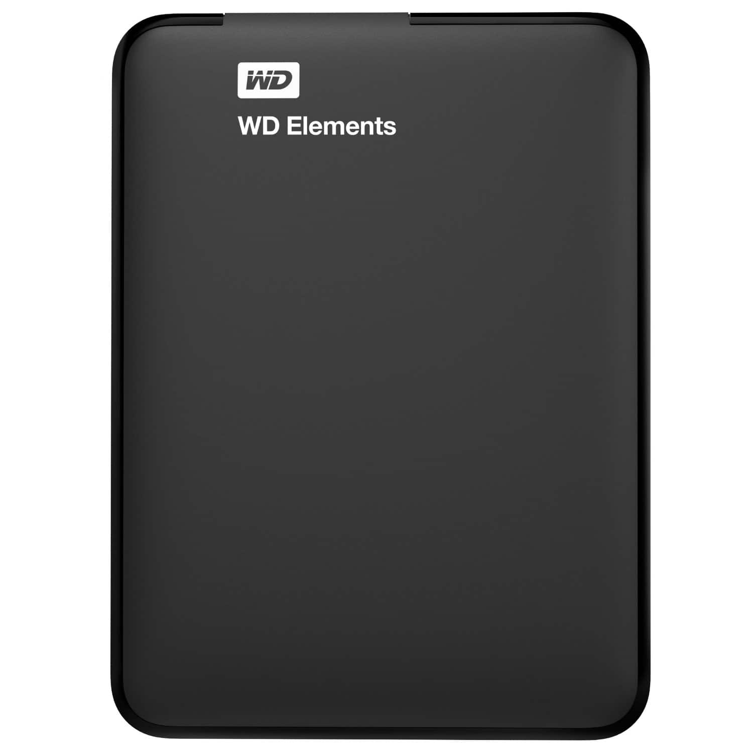 Western Digital Elements 2TB USB 3.0 Portable External Hard Drive $69.99