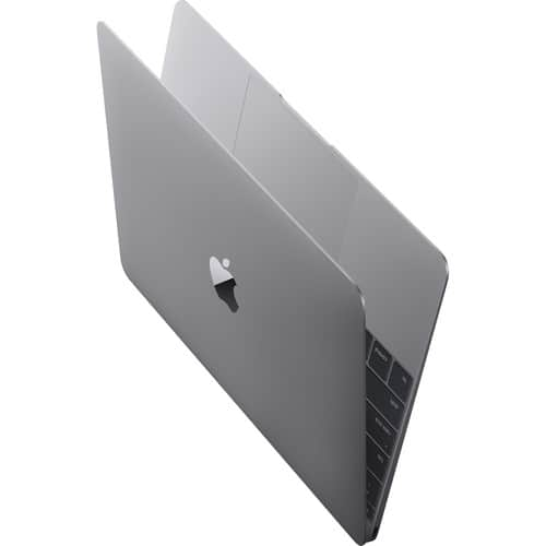 """12"""" Apple Macbook (Early 2015, Space Gray): Core M, 256GB PCIe, 8GB Memory + Parallels Desktop 11 $999 + Free Shipping"""