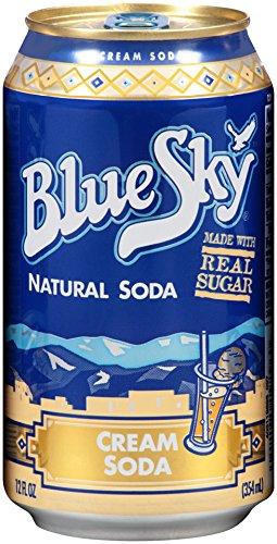 24-Pack of 12oz Blue Sky Natural Soda (Cream Soda)  $10.70 + Free Shipping