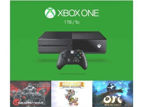*LIVE* Microsoft Xbox One 1TB Console w/ GOW Ultimate Edition + Rare Replay + Ori and the Blind Forest for $229 + Free Shipping (eBay Daily Deal)