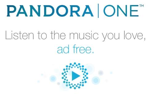 Free Two-Month Pandora One subscription on Groupon